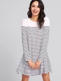 knee length dresses for women us shein sheinside