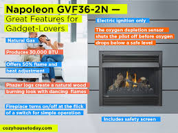 Electric Vs Gas Fireplace by Best Gas Fireplace Insert May 2017 Buying Guide