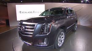 what year did the cadillac escalade come out gm unveils all cadillac escalade oct 7 2013