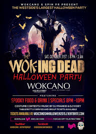wok ing dead halloween party 2015 tickets sat oct 31 2015 at 8