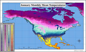 temperature map usa january us low temperature map image result for usa average low annual