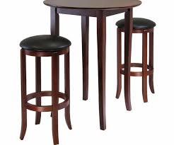 Espresso Bistro Table Furniture Pub Table And Chairs 5 Pub Table Set White