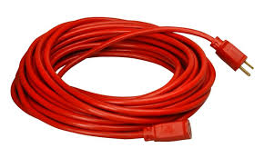 coleman cable 16 3 vinyl outdoor extension cord orange 100 feet