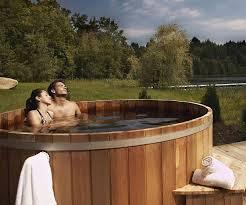 Wood Fired Bathtub Wooden Tub
