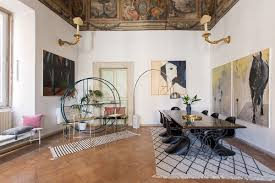 Floor And Decor Miami 16th Century Roman Palazzo Combines Frescoes And Modern Decor Curbed