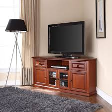 Furniture Tv Stands For Flat Screens Crosley Furniture Corner Tv Stand For Tvs Up To 60