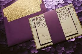 purple and gold wedding invitations purple and wedding invitations yourweek e1a6caeca25e