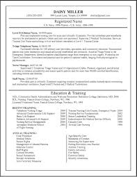 resume template nursing resume exles for registered templates template sevte