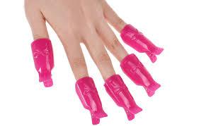 reusable gel polish remover clips