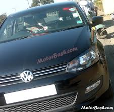 volkswagen polo black exclusive motorbash scoop volkswagen polo cng caught