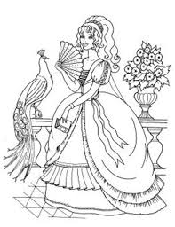princess ariel wedding princesses coloring pages
