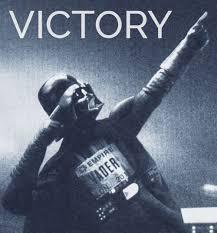 Celebration Meme - darth vader victory starwars meme celebration coso