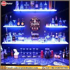led lighted bar shelves lighted bar shelves led lighted floating bar shelf led lighted bar