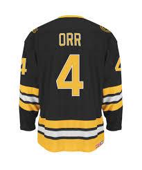 Boston Bruins Home Decor Ccm Boston Bruins Orr 4 Heroes Of Hockey Sr Jersey U2013 Pro Hockey Life