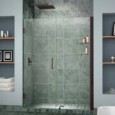 40 Shower Door Dreamline Shdr 20407210s Unidoor 40 28 Inch Shower Door With 12
