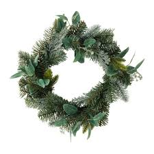 smycka artificial wreath green 46 cm ikea