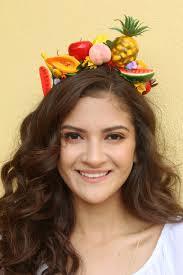 boho halloween costume fruits flower crown headband fruit mexico summer pineapple