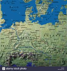Germany Map Europe by Map Maps Europe Germany Denmark Austria Poland Belarus Estonia