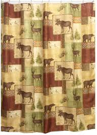 Country Themed Shower Curtains Black Bear Home Decor Also Rustic Lodge Shower Curtain Likewise