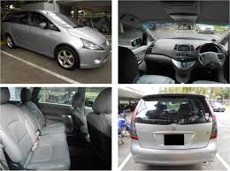mitsubishi grandis 2015 mitsubishi grandis 2 4l cheap car rental singapore