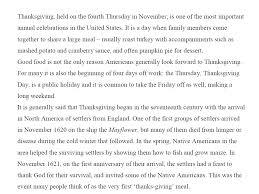 thanksgiving day essay calendar 2017