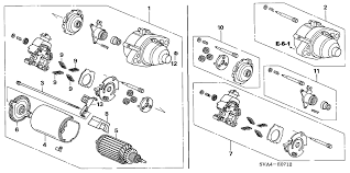where is the starter on a 2006 honda civic honda civic 2 door si navigation ka 6mt starter motor mitsuba