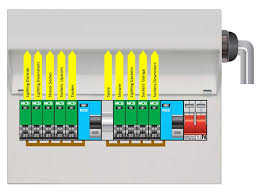 100 wiring diagram split load consumer unit three phase