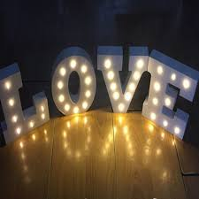 online buy wholesale light up letters from china light up letters