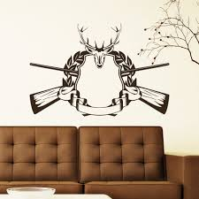compare prices on vinyl deer decals online shopping buy low price deer hunting stylish wallpaper vinyl art modern home decorative wall sticker decals 33x22inch china