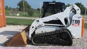 2002 bobcat t190 skid steer item k1152 sold september 2