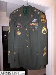 Us Army Decorations Armslist For Sale Vietnam Era U S Army Ranger Uniform