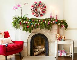 Christmas Decorations For Fireplace Mantel Holiday Mantel Decor Ideas Christmas Mantel Decorations