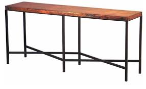 Iron Console Table Copper Top Iron Console Table Copper Furniture Free Shipping