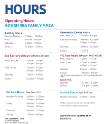 Ymca Of South Florida Hours Of Operation Tampa Metropolitan Area Ymca