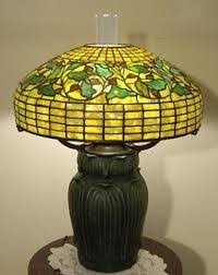 Louis Comfort Tiffany Lamp Pansy