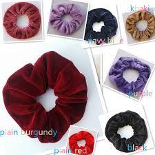 hair scrunchies on sale 1pcs women velvet hair scrunchies elastic hair