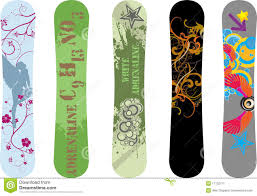 snowboard design snowboard designs stock vector image of object 17132771