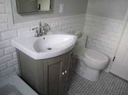 bathroom grey subway tile shower bathroom tile wall bath and
