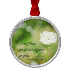 friendship quotes tree decorations ornaments zazzle