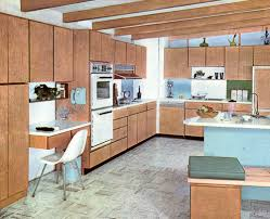 mid century modern kitchen design ideas decorating a 1960s kitchen 21 photos with even more ideas from