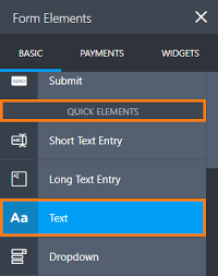 creating a scrollable terms and conditions jotform