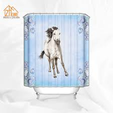 Zebra Shower Curtain by Compare Prices On Shower Curtain Horse Online Shopping Buy Low