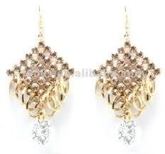 Chandelier Gold Earrings Indian Gold Chandelier Earring Buy Indian Gold Earrings Indian