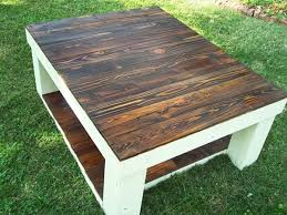 reclaimed pallet wood coffee table 101 pallets