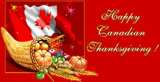 thanksgiving day in canada has been a on the second monday