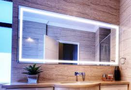 lighted bathroom wall mirror for any bathroom styles home design
