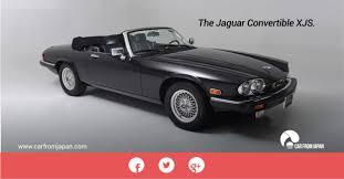 the jaguar convertible xjs car from japan