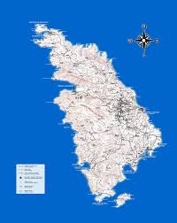 Map Of Greece Islands by Sifnos Map Tourist Map Of Sifnos Island Greece Maps Of Sifnos