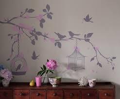 bird wallpaper home decor bambizi designer nursery wall stickers