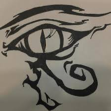 eye of horus by misszombii on deviantart